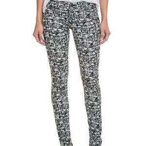 AG ADRIANO GOLDSCHMIED SUPER SKINNY PATTERN PANT